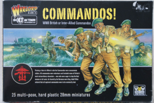 Warlord Games 28mm WGB-BI-003 British Commandos